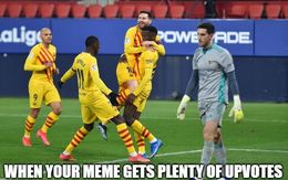 Upvotes memes