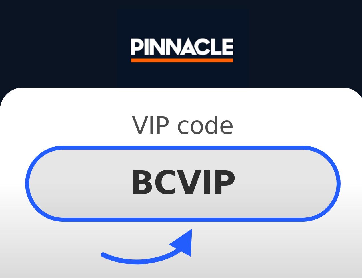 Pinnacle VIP Kód