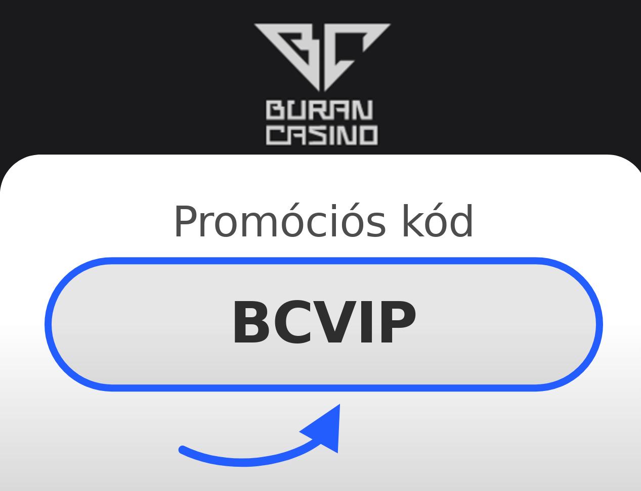 Buran Casino Promóciós Kód