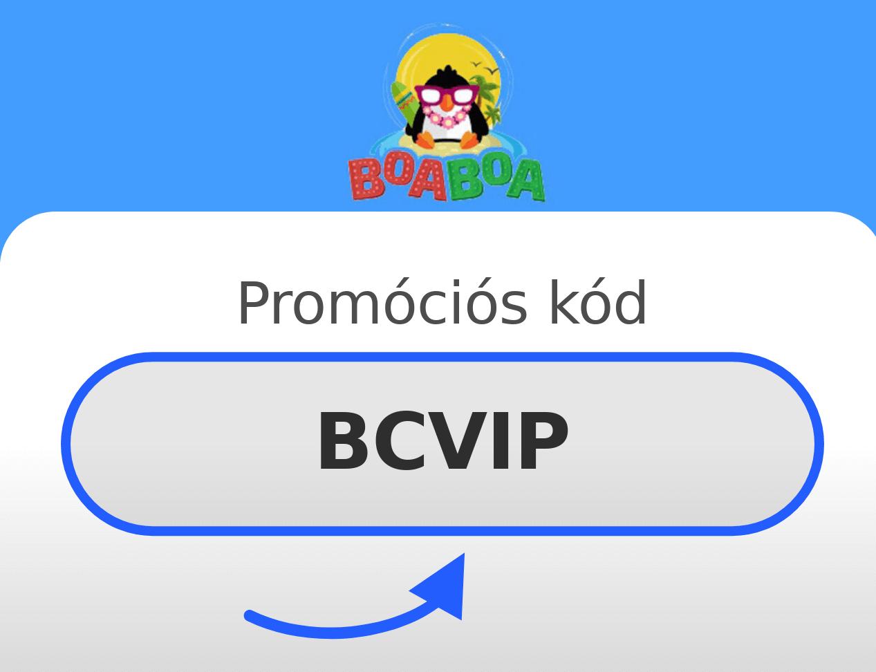 BoaBoa Casino Promóciós kód