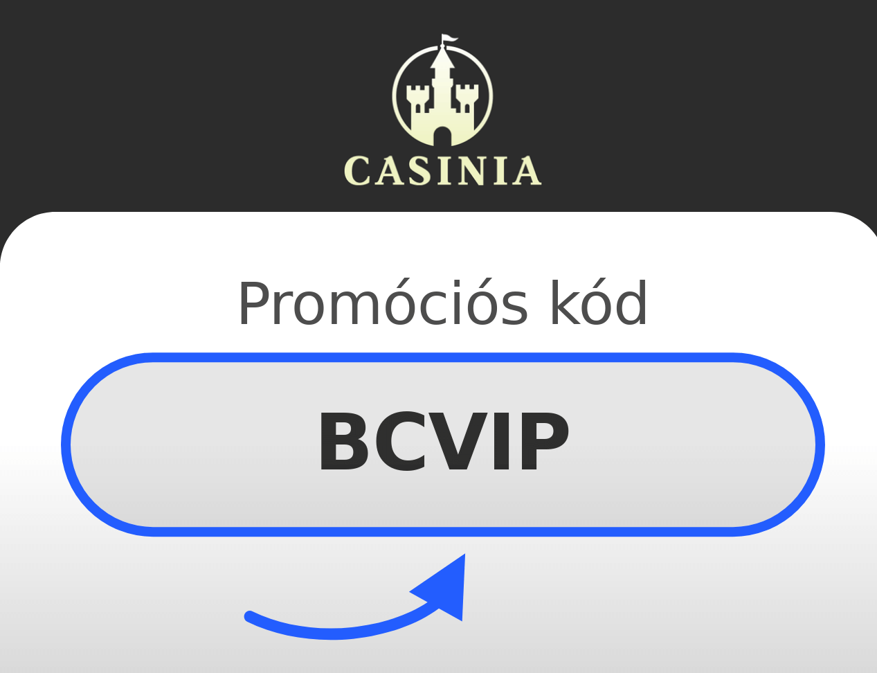 Casinia Casino Promóciós kód