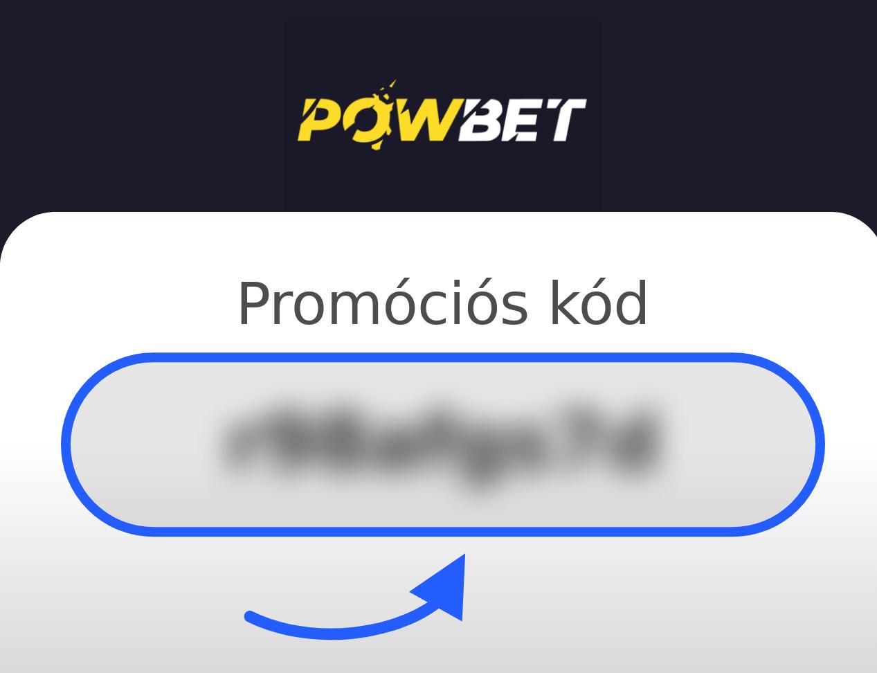 Powbet Promóciós Kód