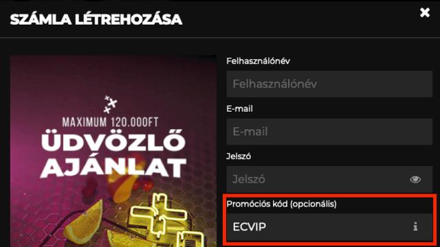 bitcoin kaszinó promóciós kód)